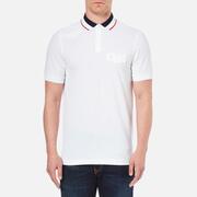 Luke 1977 Men's Airbright Collar Detail Polo Shirt - White