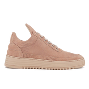 Filling Pieces Women's Monotone Stripe Low Top Trainers - Nude