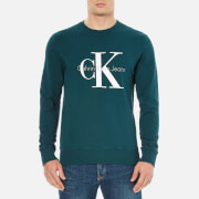 Calvin Klein Men's 90's Re-Issue Sweatshirt - Deep Teal