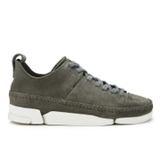 Clarks Originals Women's Trigenic Flex Shoes - Charcoal Suede
