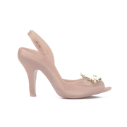 Vivienne Westwood for Melissa Women's Lady Dragon 16 Peep Toe Heeled Sandals - Nude Orb