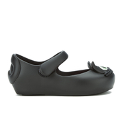 Mini Melissa Toddlers' Ultragirl Kitty 16 Ballet Flats - Black