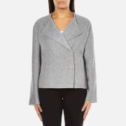 Selected Femme Women's Adana Jacket - Medium Grey Melange