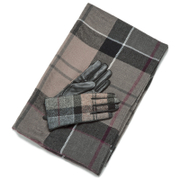 Barbour Women's Tartan Scarf & Glove Gift Set - Winter Tartan