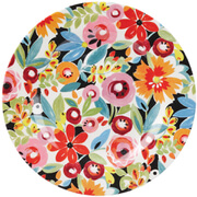 "Collier Campbell Flowerdrop Melamine 8"""" Side Plate"