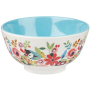 "Collier Campbell Flowerdrop Melamine 6"""" Bowl"