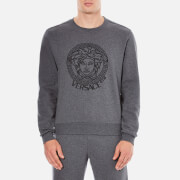 Versace Collection Men's Round Neck Sweatshirt - Grigio