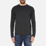 Selected Homme Men's Ludvig Long Sleeve Top - Caviar