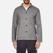 Universal Works Men's Shawl Collar Overshirt - Grey
