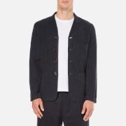 Universal Works Men's Four & Half Button Jacket - Navy