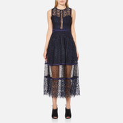 Three Floor Women's Narcissa Dress - Midnight Blue/Black