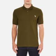 PS by Paul Smith Men's Regular Fit Zebra Polo Shirt - Khaki
