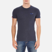 Superdry Men's Orange Label Vintage Embroidered T-Shirt - Deep Indigo Jaspe
