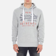 Superdry Men's Vintage Authentic Entry Hoody - Grey Marl