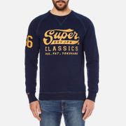 Superdry Men's Classics True Indigo Crew Sweatshirt - Classic Indigo