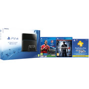 Sony PlayStation 4 1TB Console - Includes PES: UEFA Euro 2016, Uncharted 4: A Thief's End + PlayStation Plus - 90 Days