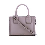 Karl Lagerfeld Women's K/Klassik Mini Tote Bag - Rosy Brown