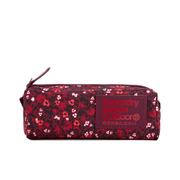 Superdry Women's Scat Ditsy Montana Pencil Case - Berry