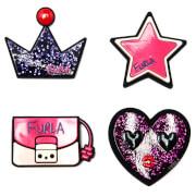 Furla Women's Candy DJ Stickers - Multi