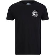 Rum Knuckles Mens Classic Logo T-Shirt - Zwart