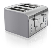 Swan ST17010GRN 4 Slice Retro Toaster - Grey