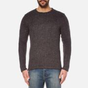 Cheap Monday Men's Caught Knitted Jumper - Charcoal Grey Melange