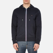Tommy Hilfiger Men's Zip Through Hoody - Navy Blazer