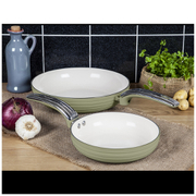 Swan Retro Frying Pans - Green (20cm/28cm)
