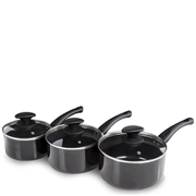 Tower Essentials Pan Set - Black