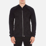 Pretty Green Men's Midhurst Paisley Jacquard Track Jacket - Black