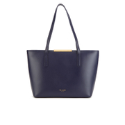 Ted Baker Women's Joriana Printed Lining Small Shopper Tote Bag - Dark Blue