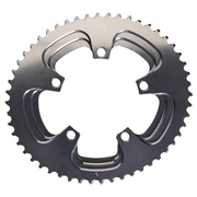 AbsoluteBLACK 110BCD 5 Bolt Spider Mount Aero Oval Chain Ring (Training)