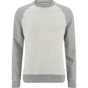 Produkt Men's Knit Raglan Crew Neck Sweatshirt - Light Grey Melange