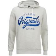 Jack & Jones Men's Originals Break Hoody - Treated White Melange