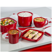Tower T90813R Microwave Soup Cup 656ml - Red