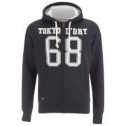 Tokyo Laundry Men's Goodlow Zip Through Hoody - Dark Navy