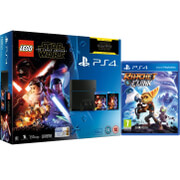 Sony PlayStation 4 500GB - Includes LEGO Star Wars: The Force Awakens, Star Wars: The Force Awakens and Ratchet & Clank