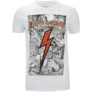Flash Gordon Men's Comic Strip T-Shirt - White
