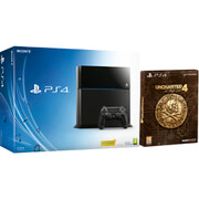 Sony PlayStation 4 500GB Console - Includes Uncharted 4: A Thief's End - Special Edition
