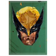 In Pieces' Logan Inspired Illustrated Art Print - 14 x 11