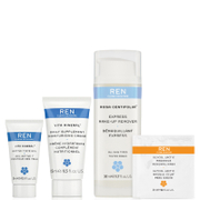 REN Complete Regime Kit for All Skin Types (Worth £16.59)