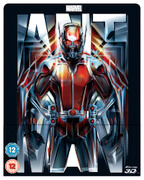Ant-Man 3D (Includes 2D Version) - Zavvi Exclusive Lenticular Edition Steelbook