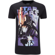 Star Wars Mens Vader Dark Side T-Shirt - Zwart