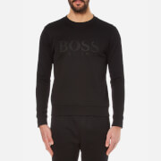 BOSS Green Men's Salbo Logo Sweatshirt - Black