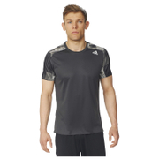 adidas Men's Response Graphic Running T-Shirt - Black