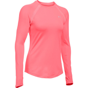 Under Armour Women's ColdGear Armour Crew Long Sleeve Shirt - Brilliance Pink