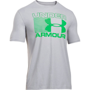 Under Armour Men's Stack Attack Short Sleeve T-Shirt - True Grey Heather