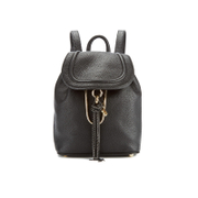 Diane von Furstenberg Women's Love Power Leather Backpack - Black
