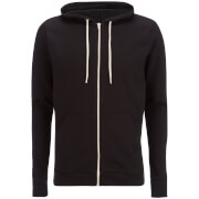 Brave Soul Men's Adrian Zip Through Hoody - Black