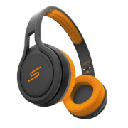 SMS Street Sport On-Ear Sweat and Water Resistant Headphones - Orange